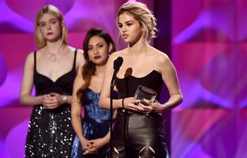 Video: Selena Gomez entre lágrimas conmovió con su discurso