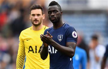 Davinson Sánchez fue expulsado en el empate del Tottenham