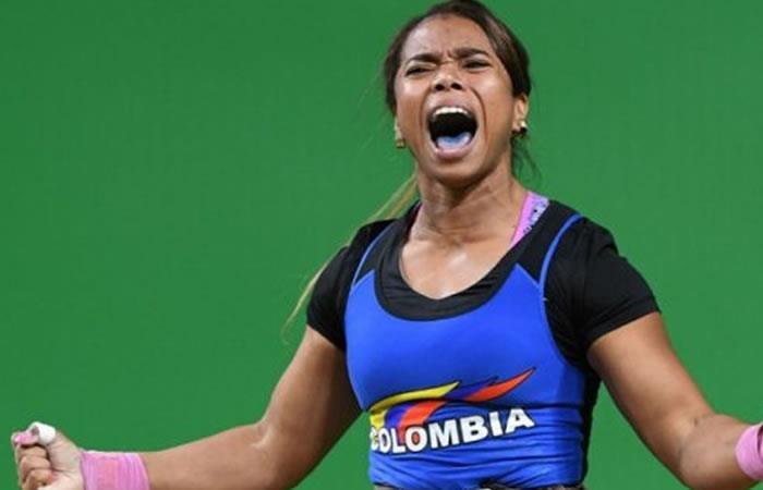 Leidy Solís campeona en levantamiento de pesas