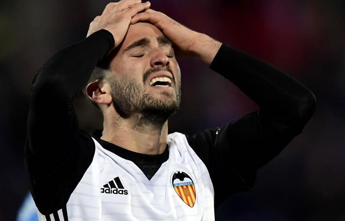 Valencia de Murillo perdió por primera vez en la Liga de España
