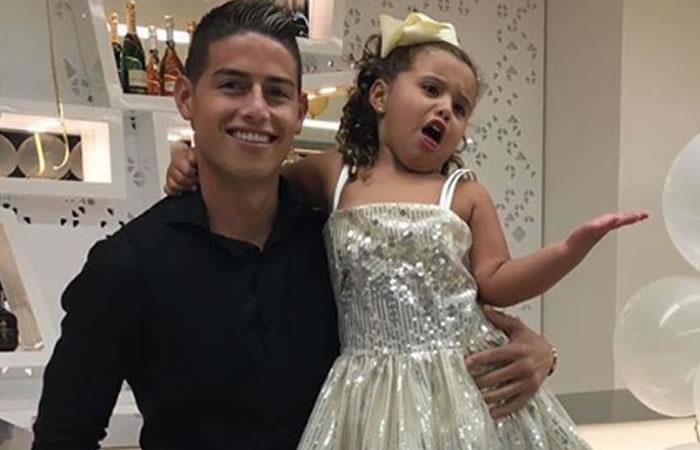 James Rodríguez y el baile de su hija Salomé del que todos hablan