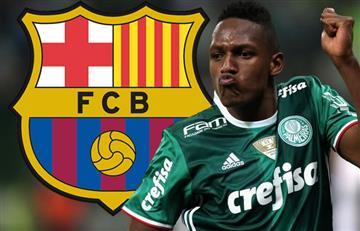 Yerry Mina más cerca del Barcelona que nunca