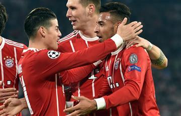 James Rodríguez y su impresionante pase gol ante el PSG
