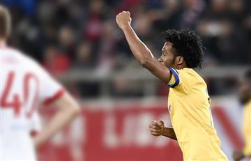 Juan Guillermo Cuadrado anotó un golazo con la Juventus en la Champions League