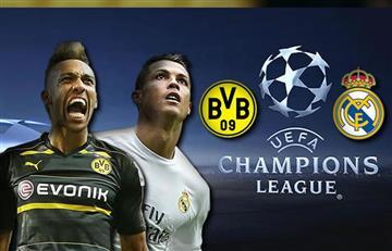 Champions League: Sigue acá la transmisión EN VIVO del Real Madrid-Borussia Dorttmund