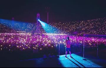 Bruno Mars y su espectacular presentación en Bogotá