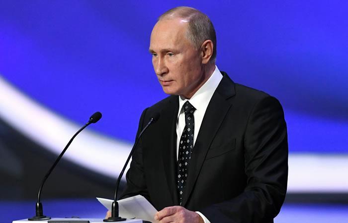 Putin rechazó decisión 'movida políticamente' del COI
