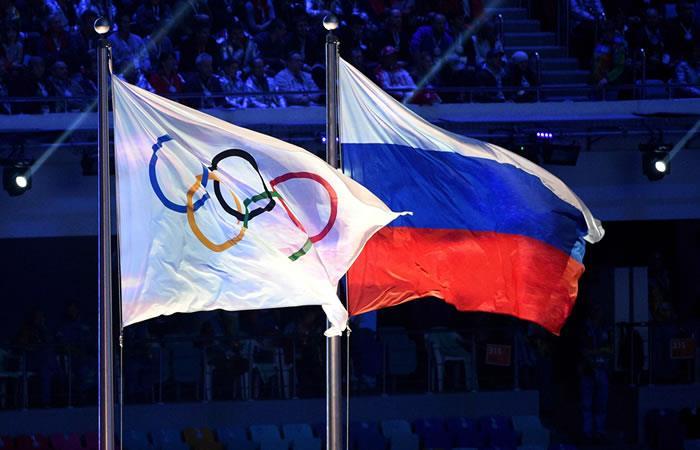 Rusia suspendida para los Juegos Olímpicos del 2018