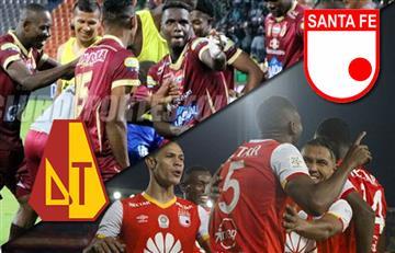 Tolima vs. Santa Fe: La semifinal de la Liga Águila EN VIVO online