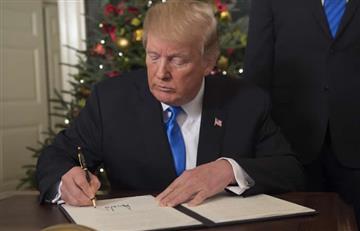 Trump ordena traslado a Jerusalén de la embajada de EEUU en Israel