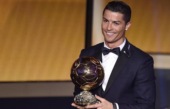 Cristiano Ronaldo logra su quinto Balón de Oro