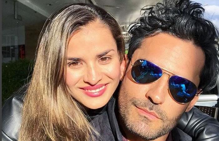 A Fabián Ríos y Yuly Ferreira los visita la cigüeña