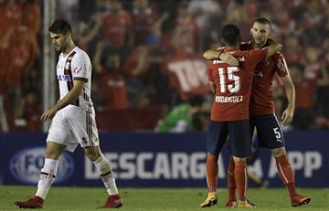 Sudamericana: Independiente golpea primero en la final ante Flamengo