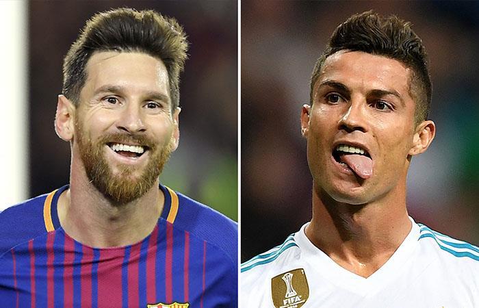 ¿Quiénes le siguen el paso a Cristiano y Messi ?