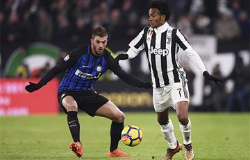 Cuadrado el jugador destacado en el empate de 'La Juve'