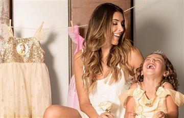 Daniela Ospina y el tierno video con Salomé que enamora las redes