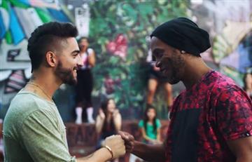 Maluma lanzó video de 'Corazón' con Ronaldinho