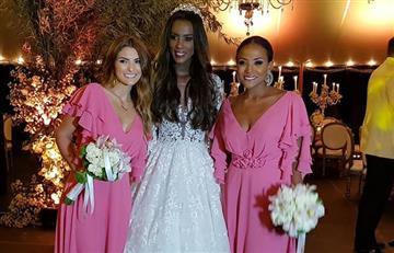 Claudia Lozano se casó en Medellín