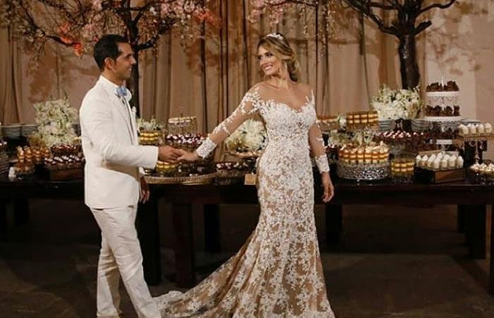 Video: Daniella Donado se casó y así fue su boda