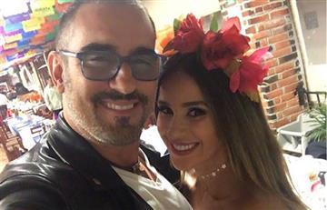 Así le celebró Catherine Siachoque el cumpleaños a Miguel Varoni