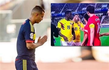 Edwin Cardona: FIFA dio a conocer su sanción por el su gesto ante Corea del Sur