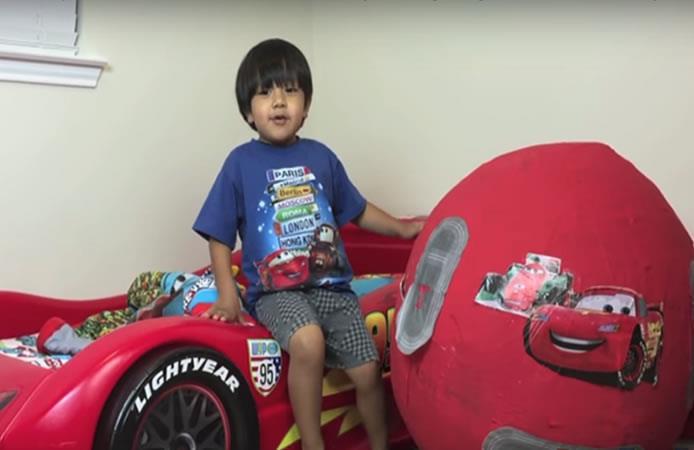 Este niño es una de las estrellas de Youtube mejor pagadas en el 2017