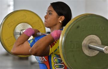 Leidy Solís recibió medalla de plata de los Juegos Olímpicos del 2008