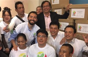 Petro avala su candidatura presidencial con 850 mil firmas