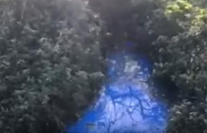 Video: Resuelven secreto de un arroyo que era excesivamente azul