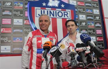 Atlético Junior confirmó la llegada de Alexis Mendoza