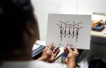 Colombia: Mujeres ciegas pueden detectar el cáncer de mama