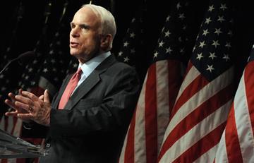 El senador John McCain se encuentra en delicado estado de salud