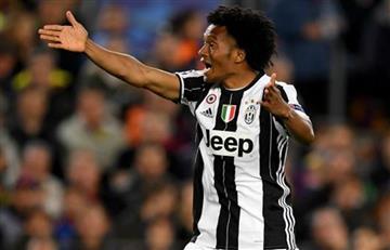 Juan Guillermo Cuadrado no la pasa bien la Juventus, su situación preocupa