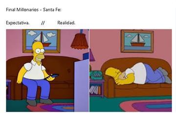 Millonarios le ganó a Santa Fe y los memes hicieron de las suyas