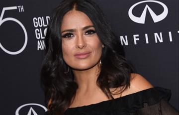 """Salma Hayek: """"Te mataré"""" palabras de Weinstein por no tener sexo con él"""