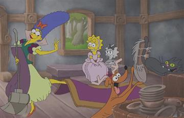 Disney compró Fox, así se ven 'Los Simpson' con esta compañía