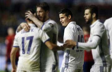 James Rodríguez revela cuáles son los jugadores del Madrid con los que aún se habla