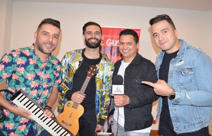 Jorge Celedón presenta su canción 'Me gustas Mucho' junto a Alkilados