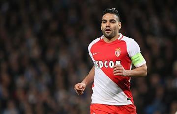 Mónaco goleó e impuso jerarquía ante el Saint-Étienne pero faltó el gol de Falcao