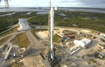 NASA utiliza por primera vez un cohete reutilizado de SpaceX