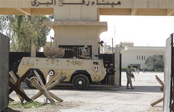 Reapertura temporal del paso fronterizo de la franja de gaza y Egipto