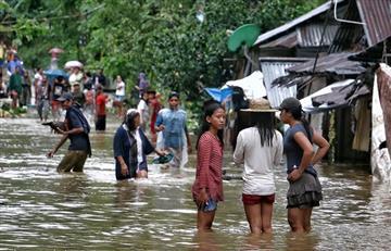 Tormenta tropical en Filipinas deja al menos tres personas muertas