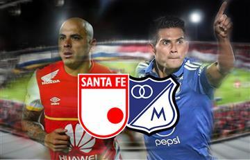 Santa Fe vs. Millonarios: EN VIVO por la gran final de Liga Águila