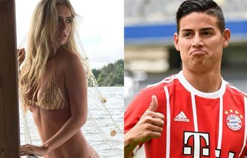James Rodríguez: La sexy modelo colombiana que trae loco al futbolista