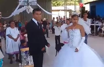 'La boda más triste del mundo' que se hace viral en las redes sociales