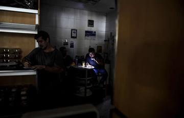 """Un apagón en Caracas generó """"desespero"""" en los habitantes"""