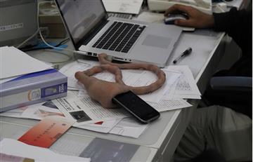 Video: Cargador enforma de cordón umbilical se viraliza en redes