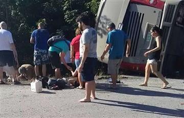 México: Fatídico accidente de un bus deja varios muertos