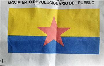 Movimiento Revolucionario del Pueblo planearía atentados en Bogotá