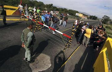 Protesta en frontera con Venezuela por escasez de gasolina
